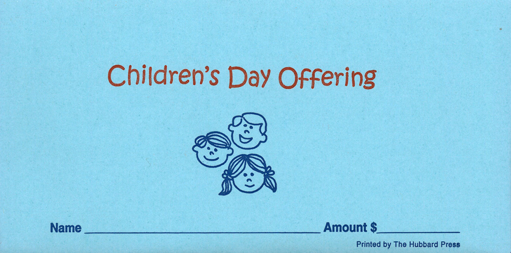 childrens-day-offering Quickie Order Forms on