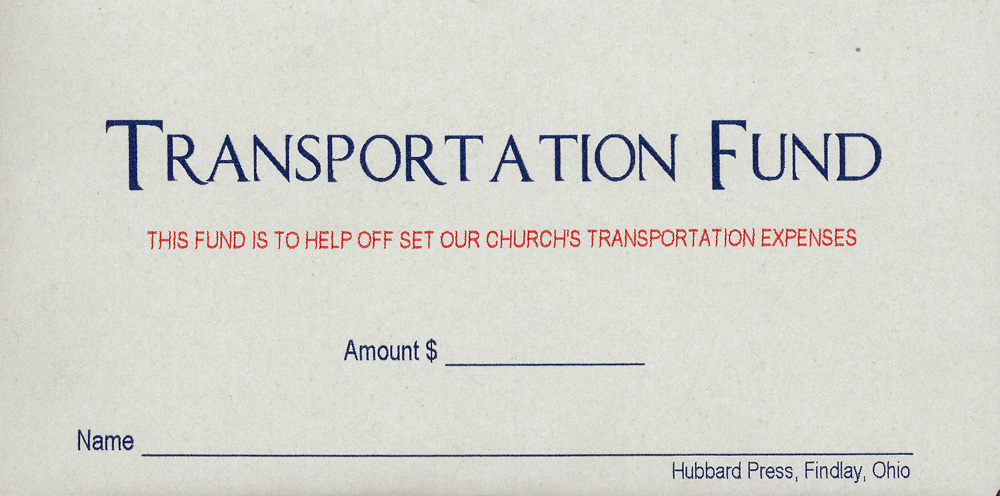 transportation-fund Quickie Order Forms on