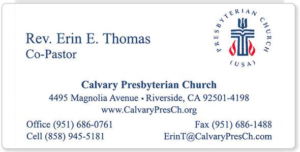 The hubbard press business cards calvary presbyterian business card colourmoves