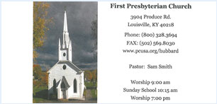 First Presbyterian Church notecard