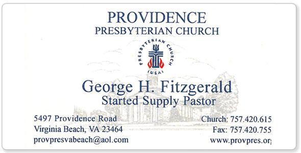 The hubbard press business cards providence presbyterian church business card reheart Choice Image